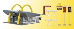 MC DONALD´S MED DRIVE IN 1:87