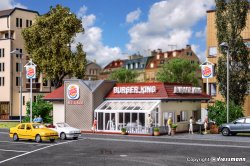 HAMBURGERBAR BURGER KING HO