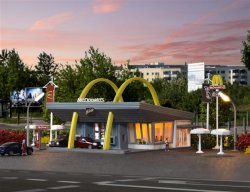 MC DONALD´S SNABBRESATURANT 1:160